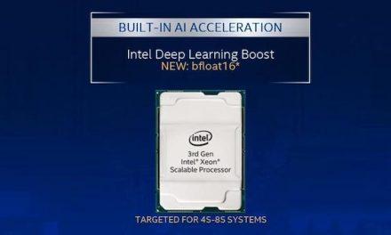 Les processeurs évolutifs Xeon d'Intel de 3e génération offrent un traitement FPU 16 bits