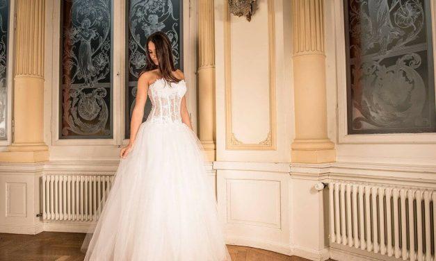 Création robe de mariée sur mesure