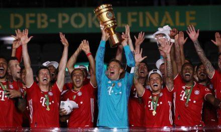 Le Bayern Munich reste sur la voie des triplés historiques avec la victoire en Coupe d'Allemagne contre le Bayer Leverkusen