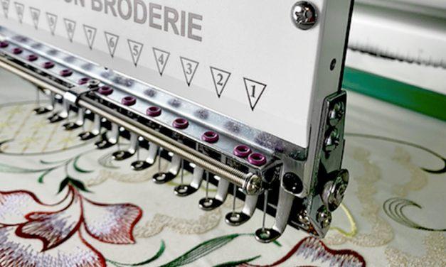 Découvrez la machine à broder semi-industrielle de Maison Broderie