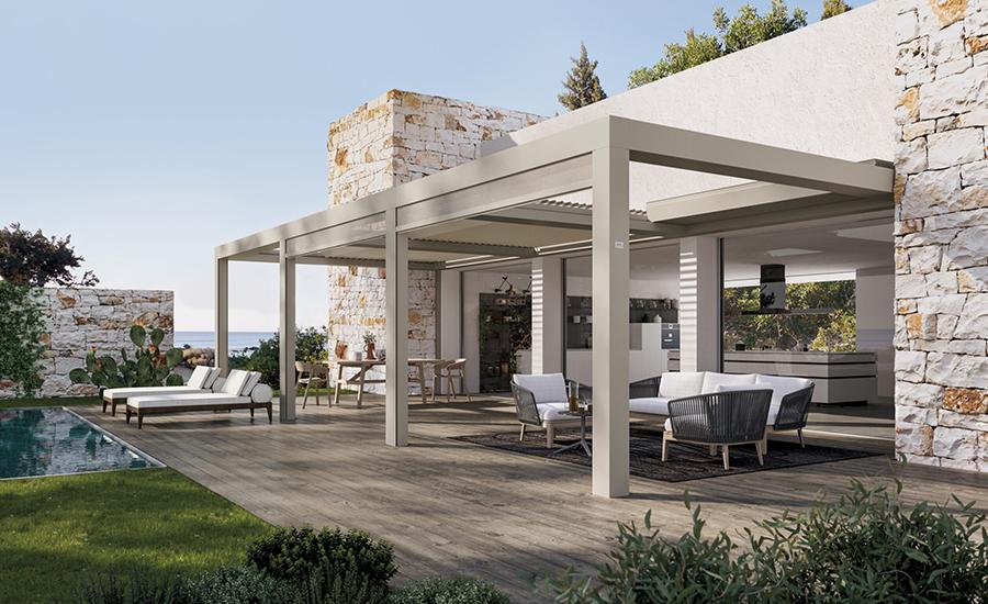 Pose de pergola sur-mesure près de Perpignan avec Technica Habitat