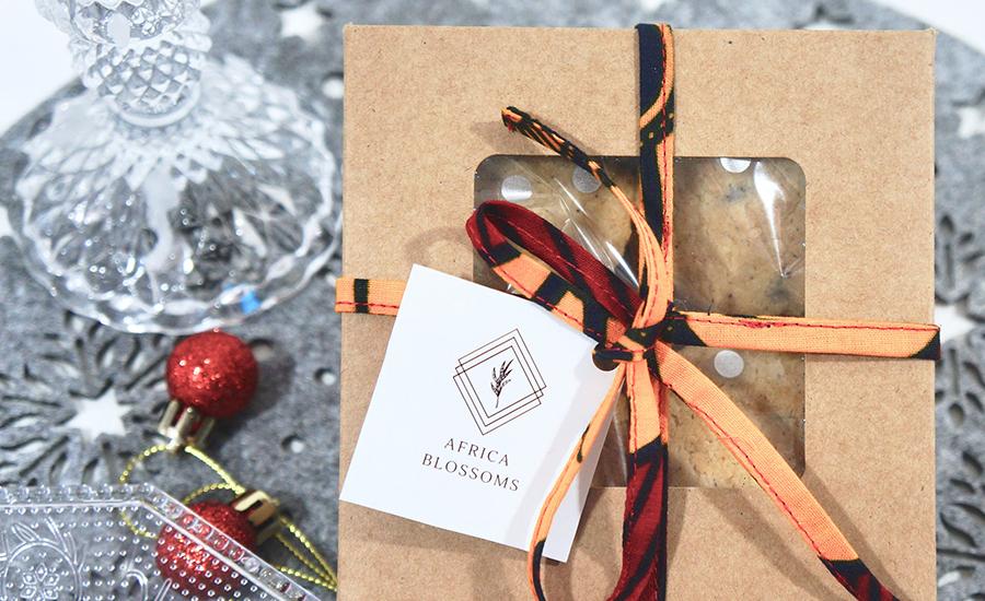 Africa Blossoms, marque de biscuits faits maison aux épices africaines